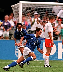 Branco Scores Against the Netherlands, 20 Years Ago July 9th, Dallas, U.S.