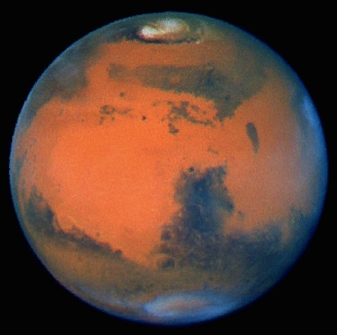 Mars, As Red As They Come (NASA) Click for Video