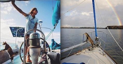 World Sailers: Tropicat Amelia & Liz Clark, Matt/Jess Johnson's Georgie